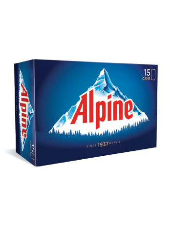 Alpine 15 Pack Cans