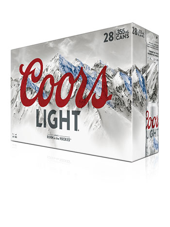Coors Light 28 Pack Cans