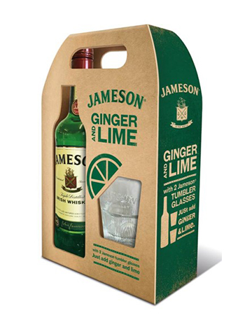 Jameson Irish Whiskey Gift Pack