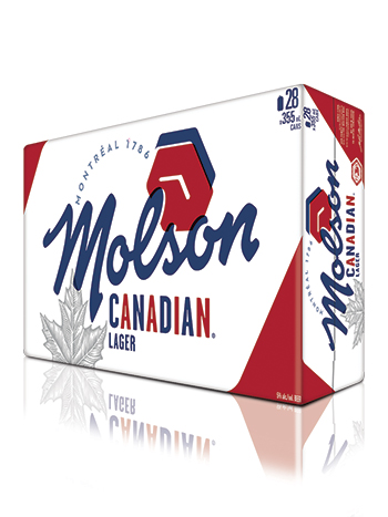 Molson Canadian 28 Pack Cans