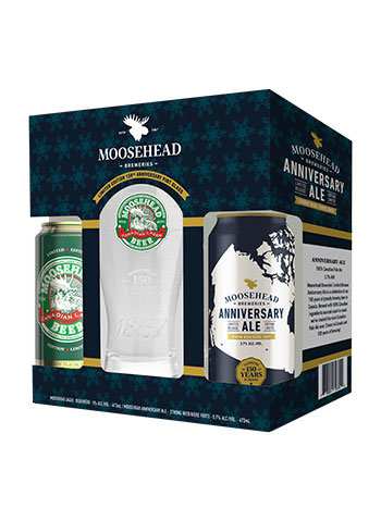Moosehead Holiday Gift Pack