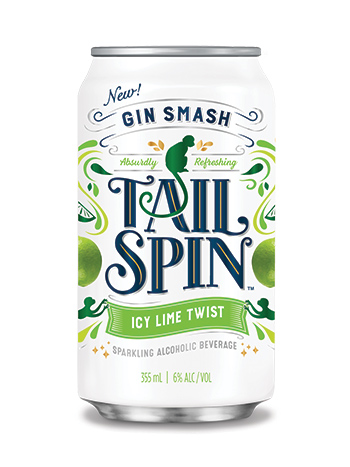 Tailspin Gin Smash Icy Lime Twist