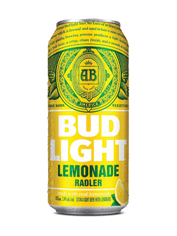 Bud Light Lemonade Radler - PEI Liquor Control Commission