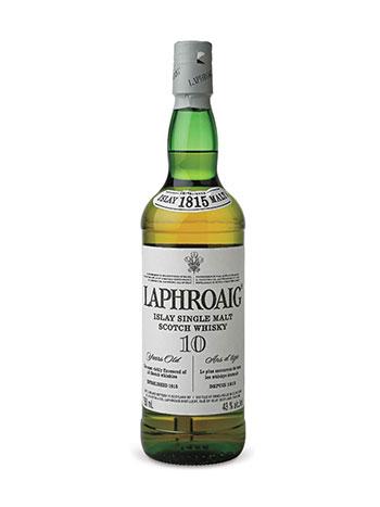 Laphroaig 10 Year Old Islay Scotch
