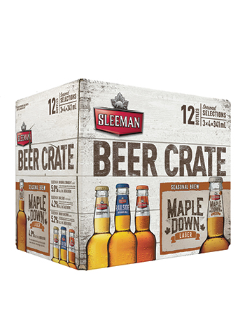 Sleeman Beer Crate