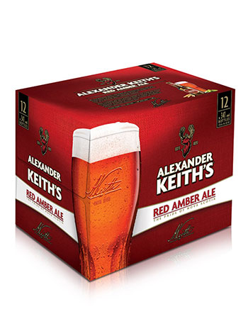 PEI Liquor Keith's Red Amber Ale