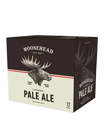 Moosehead Pale Ale 12 Pack Bottles