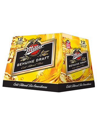 Miller Genuine Draft 12 Pack Bottles
