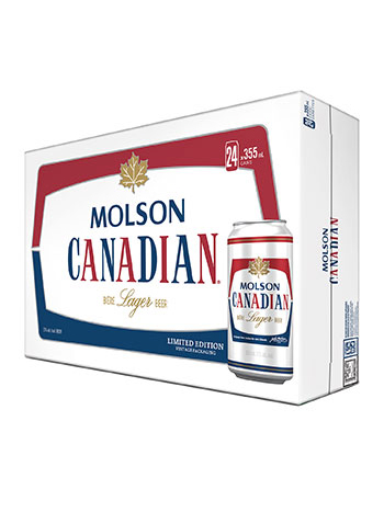 Molson Canadian 24 Pack Cans