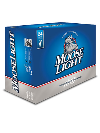 Moose Light 24 Pack Cans
