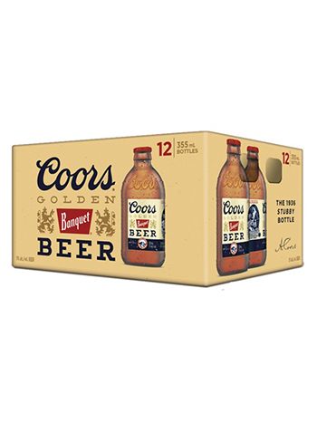 Coors Banquet 12 Pack