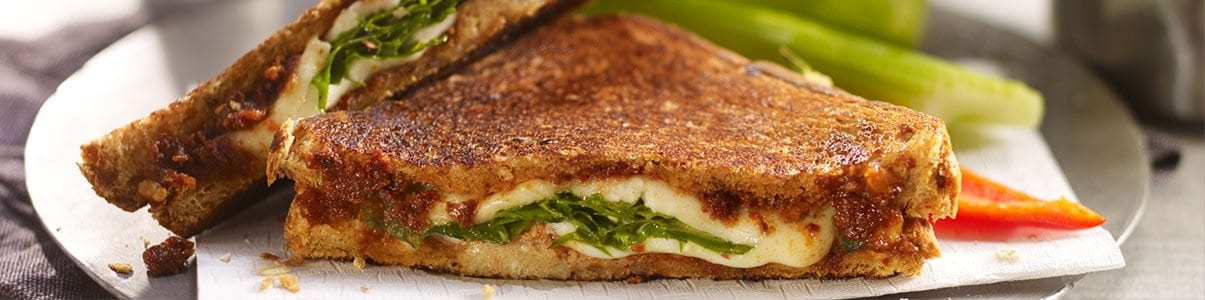 Arugula-and-Mozzarella-Panini