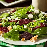 Crunchy Beet and Walnut Salad