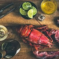 Wine and Lobster Pairing