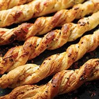 Parmesan & Herb Twists