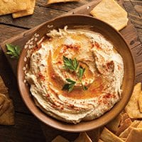 White Bean & Roasted Garlic Hummus