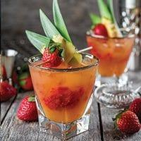 PEI Strawberry Cocktails