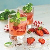 Strawberry & Shine Ice Pops