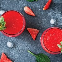 Strawberry & Watermelon Slush
